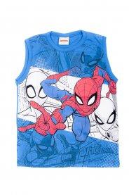 Imagem - Regata Infantil Menino Estampa Spider-Man