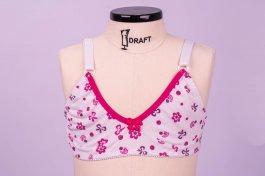 Imagem - Sutiã Infanto-Juvenil Cotton Estampado U