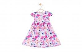 Imagem - Vestido Infantil Menina Rosa Floral