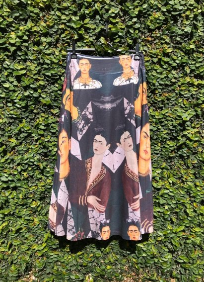 Saia Midi Frida Kahlo