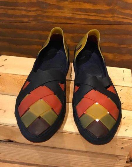 Sapato de Látex colorido