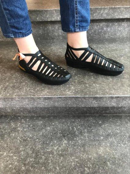 Sapato de Látex preto