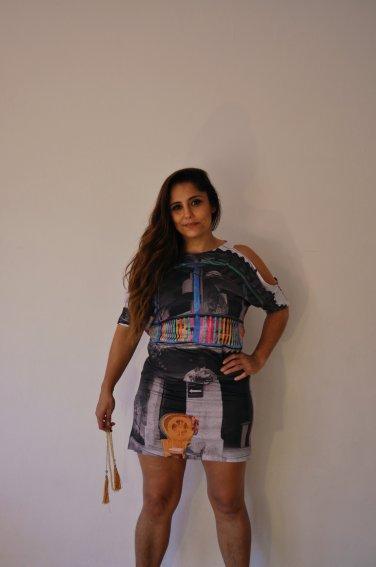 Vestido Recorte Cartagena