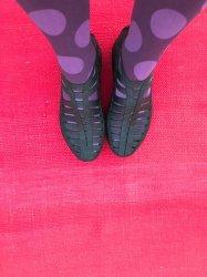Imagem - Sapato de Látex Botinha Preta cód: 247