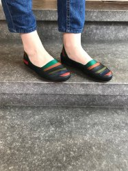 Imagem - Sapato de Látex colorido cód: 235