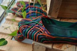 Imagem - Sapato de Látex colorido cód: 243