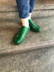 Imagem - Sapato de Látex verde cód: 238
