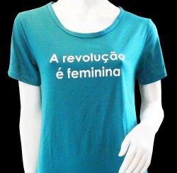 Imagem - T-SHIRT FEMININA A REVOLUÇÃO É FEMININA - 55