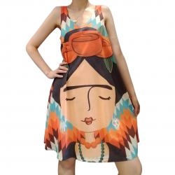 Imagem - Vestido Regata Profana Frida Localizada