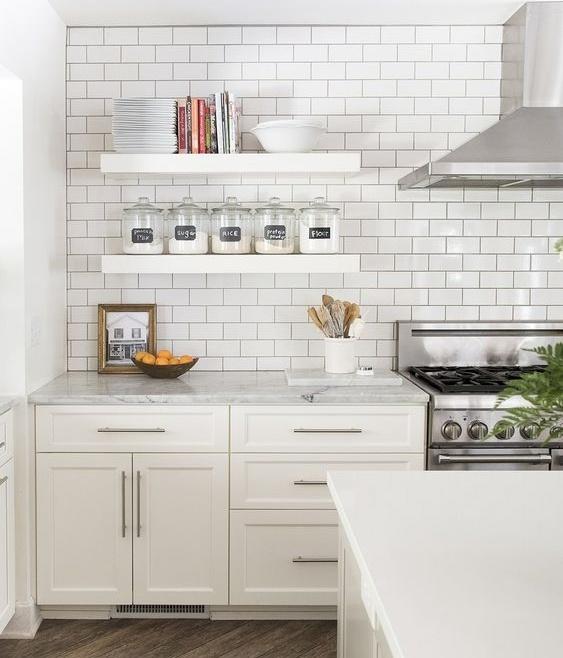 Imagem - Melhores revestimentos para cozinhas monocromáticas