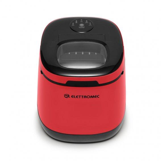 Ice Maker Portátil Vermelha 220V - ELETTROMEC