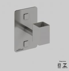 Imagem - Kit Adaptador Quadrado Cromado SECCARE cód: 7898265853065-3194