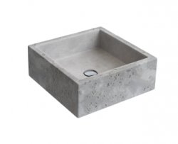 Imagem - L.70.55 - Cuba de Apoio Quadrda Cimentícia Bruta - DECA cód: 7894202006655-L.70.55