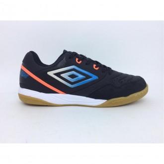 Imagem - Tenis Futsal Umbro 0f72150 Pro 5 Club Black/reef Coral/mailb cód: 100000120F72150PRO5CLUB500000051