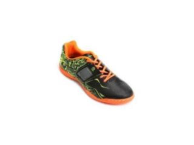 Imagem - Tenis Futsal Penalty 126139 Preto/amarelo/laranja