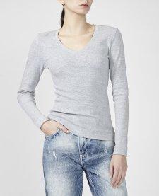 Imagem - Blusa Canelada Decote V Animale Jeans