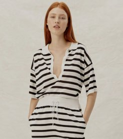 Imagem - Blusa Listrada em Tricot com Gola Animale Jeans