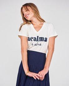 Imagem - Camiseta Acalma Linda de Morrer