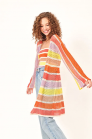 Imagem - Cardigan em Tricot Listrado Dress To