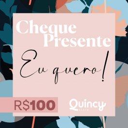 Imagem - Cheque Presente 100,00