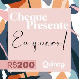 Imagem - Cheque Presente 200,00