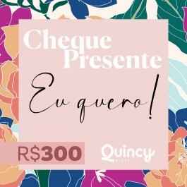 Imagem - Cheque Presente 300,00