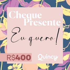Imagem - Cheque Presente 400,00