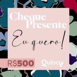 Imagem - Cheque Presente 500,00