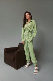 Imagem - Conjunto Camisa e Calça com Faixa