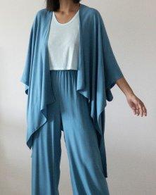 Imagem - Conjunto Calça e Kimono em Viscose