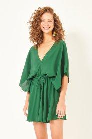 Imagem - Macaquinho em Crepe Kimono Dress To