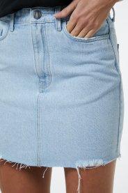 Imagem - Saia Curta Barra Desfiada Animale Jeans