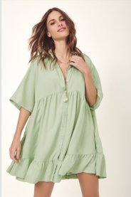 Imagem - Vestido Curto Babados Dress To
