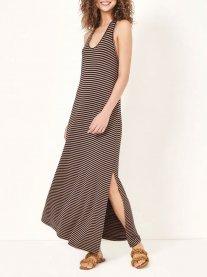 Imagem - Vestido Listrado em Malha Dress To