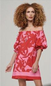 Imagem - Vestido Decote Ombro a Ombro Floral Lore