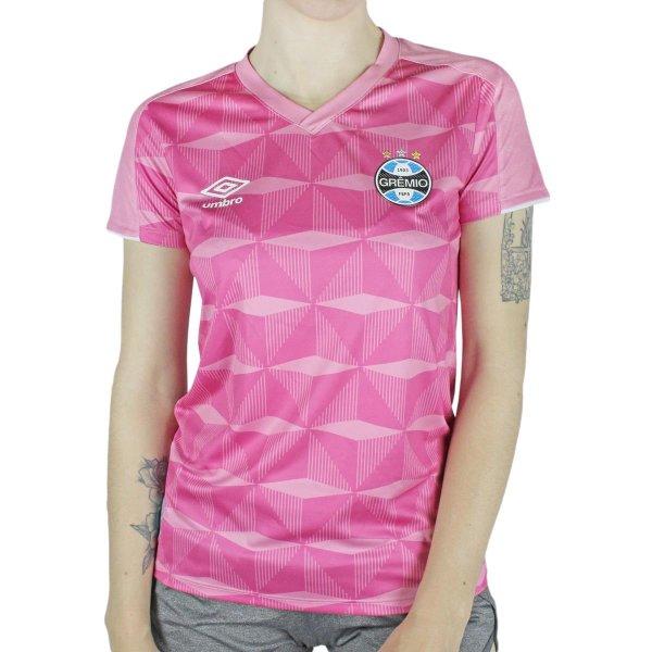 Camisa Feminina Umbro Gremio Outubro Rosa 2019 Lojas Radan