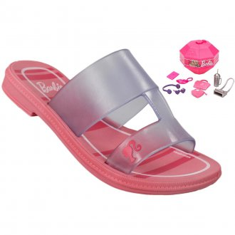 Imagem - CHINELO INFANTIL GRENDENE BARBIE SURPRISE