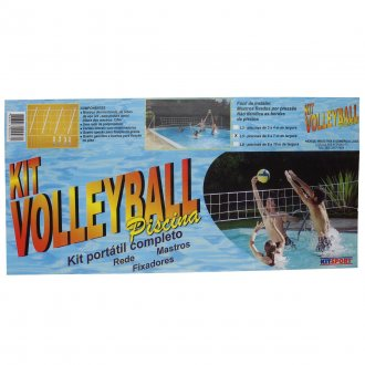 Imagem - KIT VOLLEYBALL PISCINA COMPLETO