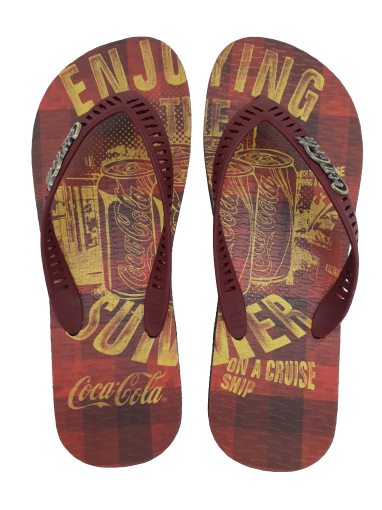 Chinelo Masculino Coca Cola CC2681 The Summer