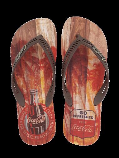 Chinelo Masculino Coca Cola CC2639 Tropic Wood