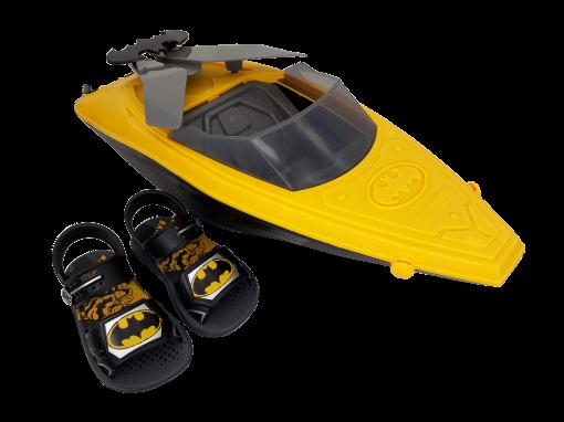 Sandália Infantil Grendene Menino Batman Boat