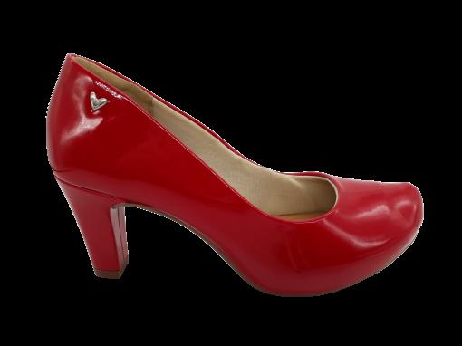 Sapato Feminino Salto Médio Mississipi Verniz