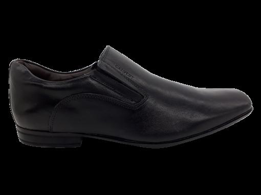 Sapato Social Masculino Calvest 2305B461 em Couro Preto