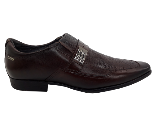 Sapato Masculino Pegada 22819 em Couro Café
