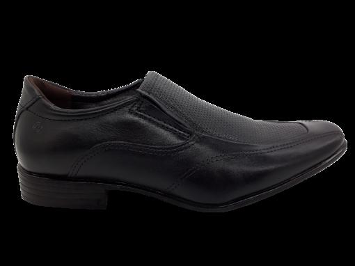 Sapato Masculino Pegada em Couro Preto 124601