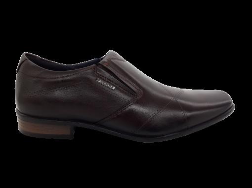 Sapato Social Masculino Pegada em Couro 121832 Marrom