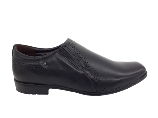 Sapato Masculino Pegada em Couro Preto 122314-01