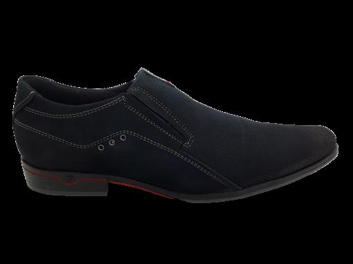 Sapato Social Masculino Pegada 122242 em Couro Marinho