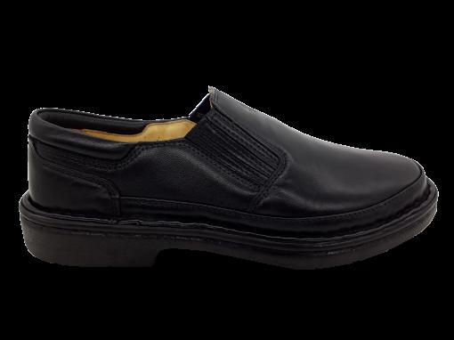 Sapato Social Masculino Pipper em Couro Preto