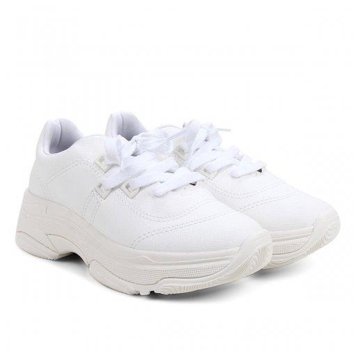 Tênis Feminino Bebecê Chunky Dad Sneaker T1319-401 Monocromático
